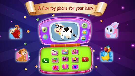 Baby Phone Toy - Educational Toy Games for Kids