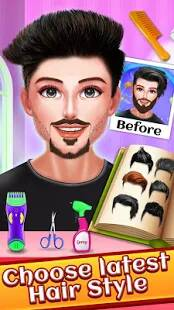Celebrity Beard Salon Makeover - Indian Salon Game