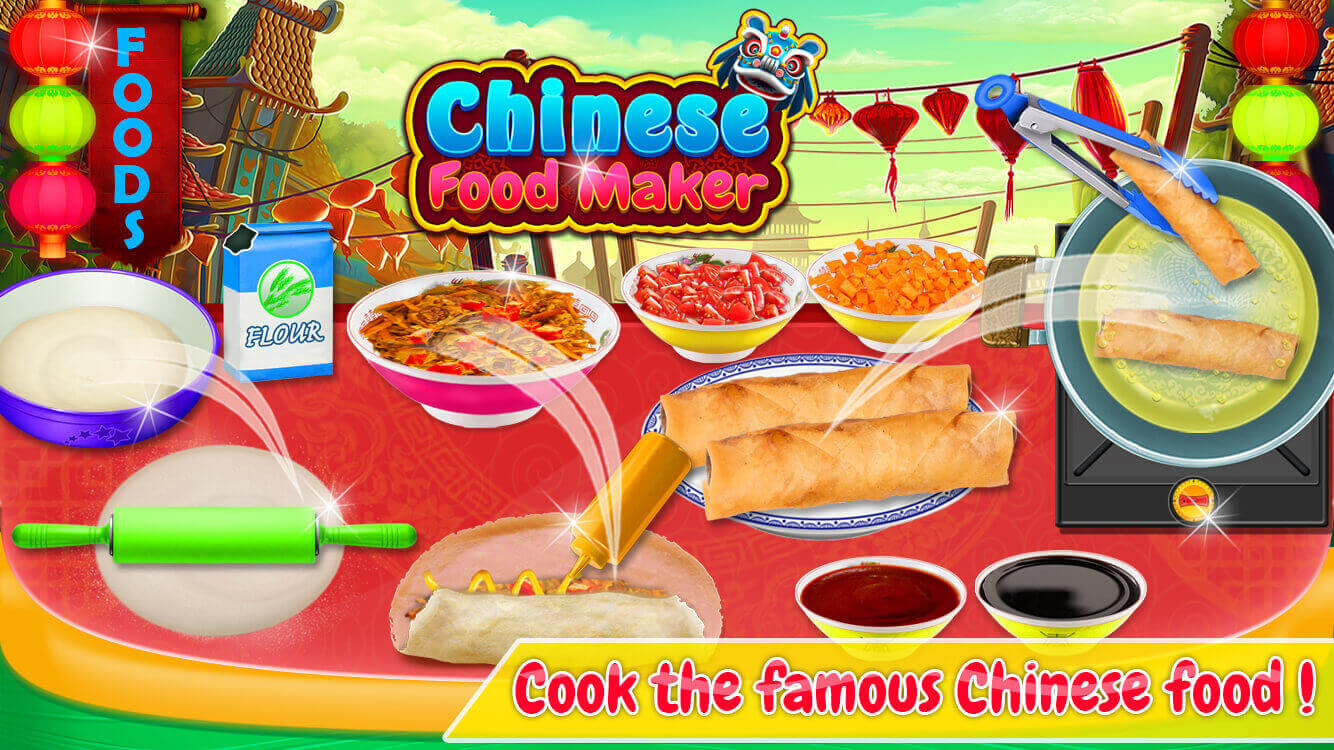 Chinese Street Food - Cooking Game