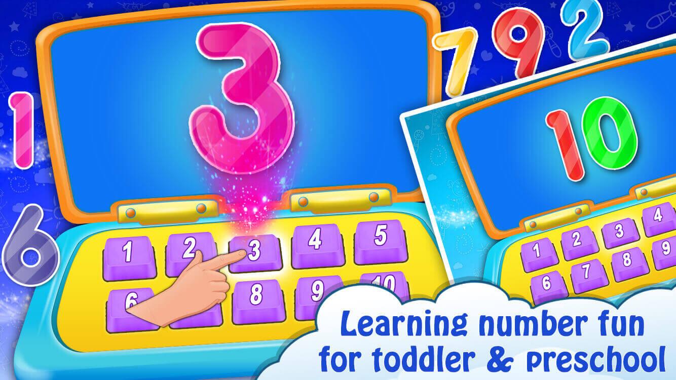 Kids Computer - Alphabet, Number, Animals Game